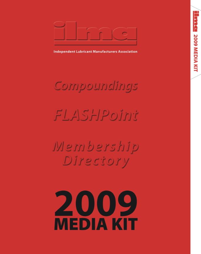 ILMA 2009 Media Kit