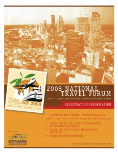 National Travel Forum Registration Brochure