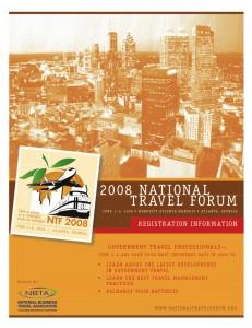 National Travel Forum Registration Brochure