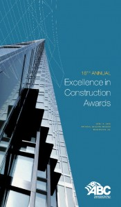 2008 Excellence in Construction Awards Onsite Program Guide