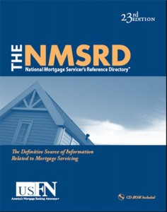 The National Mortgage Servicer's Reference Directory