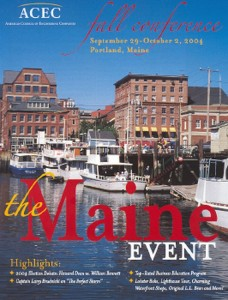 The Maine Event - ACEC 2004 Fall Conference