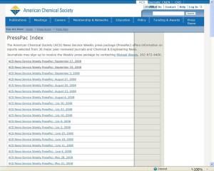 PressPac Index