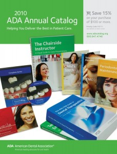 2010 American Dental Association Annual Catalog