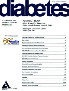 Diabetes Abstract Book