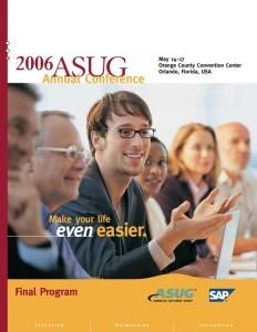 2006 ASUG Annual Conference - Final Program