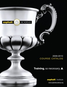 Asphalt Academy Course Catalog 09-10