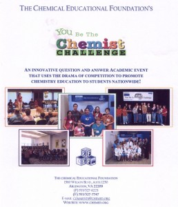 CEF's You Be the Chemist Challenge