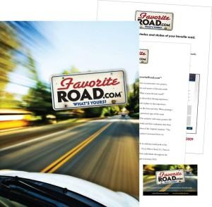 FavoriteRoad.com Press Kit