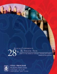 28th Annual Conference & Theatre Tour
