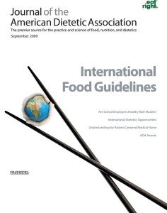 Journal of the American Dietetic Association - Sept. 2009