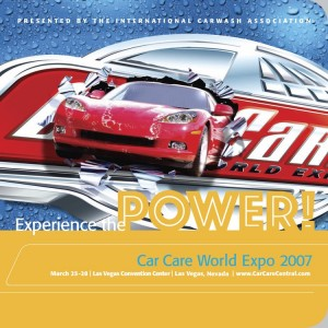 Experience the POWER! Car Care World Expo 2007