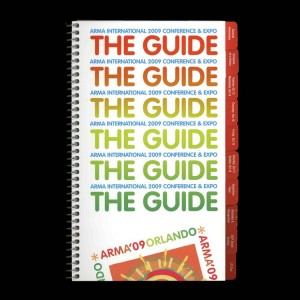 ARMA International 2009 Conference & Expo - The Guide