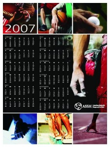 2007 Calendar Poster
