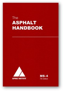 MS-4: The Asphalt Handbook 7th Edition