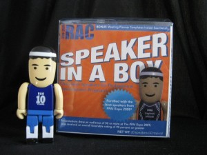 PPAI 2009 Speaker In A Box program