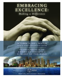 Embracing Excellence: Making a Difference; 65th Annual Meeting of the American Society for Surgery of the Hand
