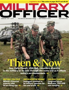 Military Officer Magazine, March 2010