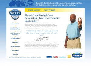 The AAO Promotes Sports Safety and the Importance of Mouth Guard Use for all Athletes