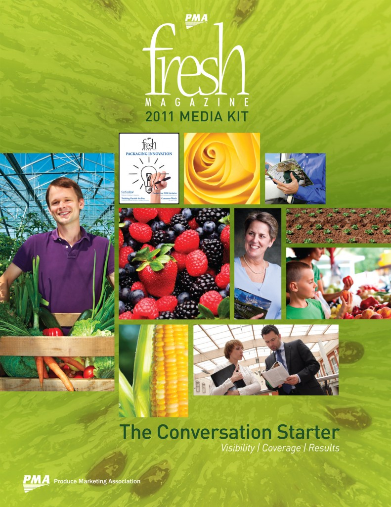 2011 PMA Fresh Magazine Media Kit