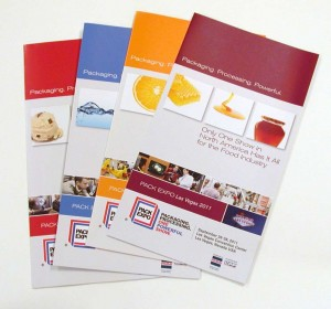 """Packaging. Processing. Powerful."" - PACK EXPO Las Vegas 2011 Attendee Promotional Materials"