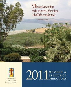 Catholic Cemetery Conference 2011 Member & Resource Directory