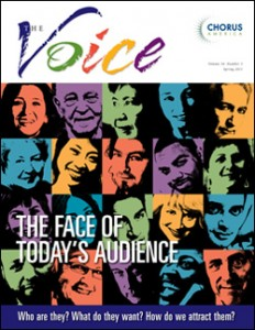 The Face of Today's Audience: A Special Edition of The Voice (quarterly magazine)
