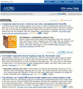 CPA Letter Daily
