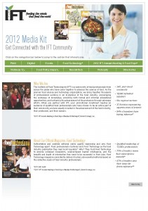 2012 IFT Media Kit