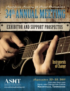 American Society of Hand Therapists 34 Annual Meeting Exhibitor and Support Prospectus