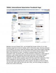 TESOL Social Media