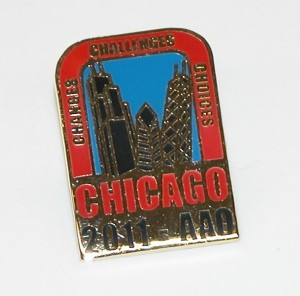 2011 AAO Annual Session Lapel Pin