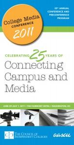 2011 College Media Conference Program