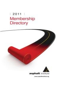 2011 Asphalt Institute Membership Directory