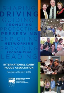 International Dairy Foods Association Progress Report 2012
