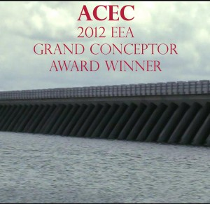 Lake Borgne Surge Barrier EEA Award Winner 