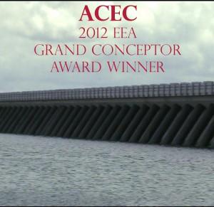 Lake Borgne Surge Barrier EEA Award Winner