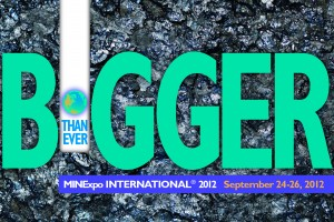 MINExpo INTERNATIONAL® 2012 (National Mining Association Tradeshow and Conference)