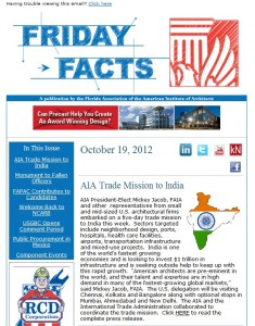 Friday Facts - AIA Florida's Weekly Communications