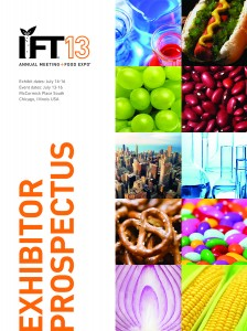 2013 IFT Food Expo Sales Kit