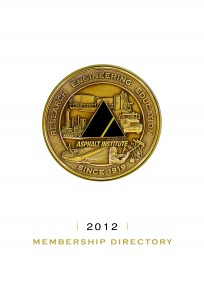 Asphalt Institute 2012 Membership Directory