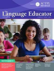 The Language Educator - October 2012