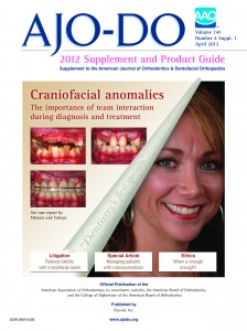 American Journal of Orthodontics and Dentofacial Orthopedics - April 2012 Supplement