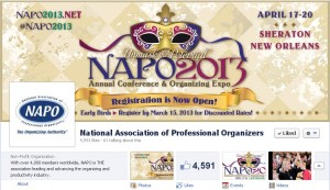 The National Association of Professional Organizers (NAPO) Social Media Presence