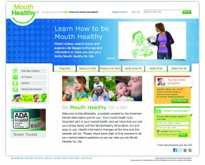 MouthHealthy.org consumer website (in English and Spanish)