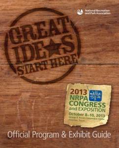 2013 NRPA Congress Program Book