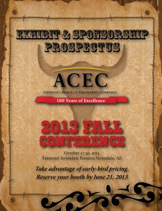 2013 ACEC Fall Conference Exhibitor's Package