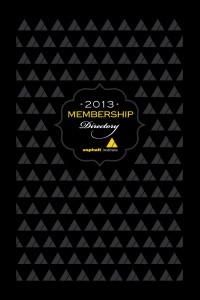 2013 Membership Directory
