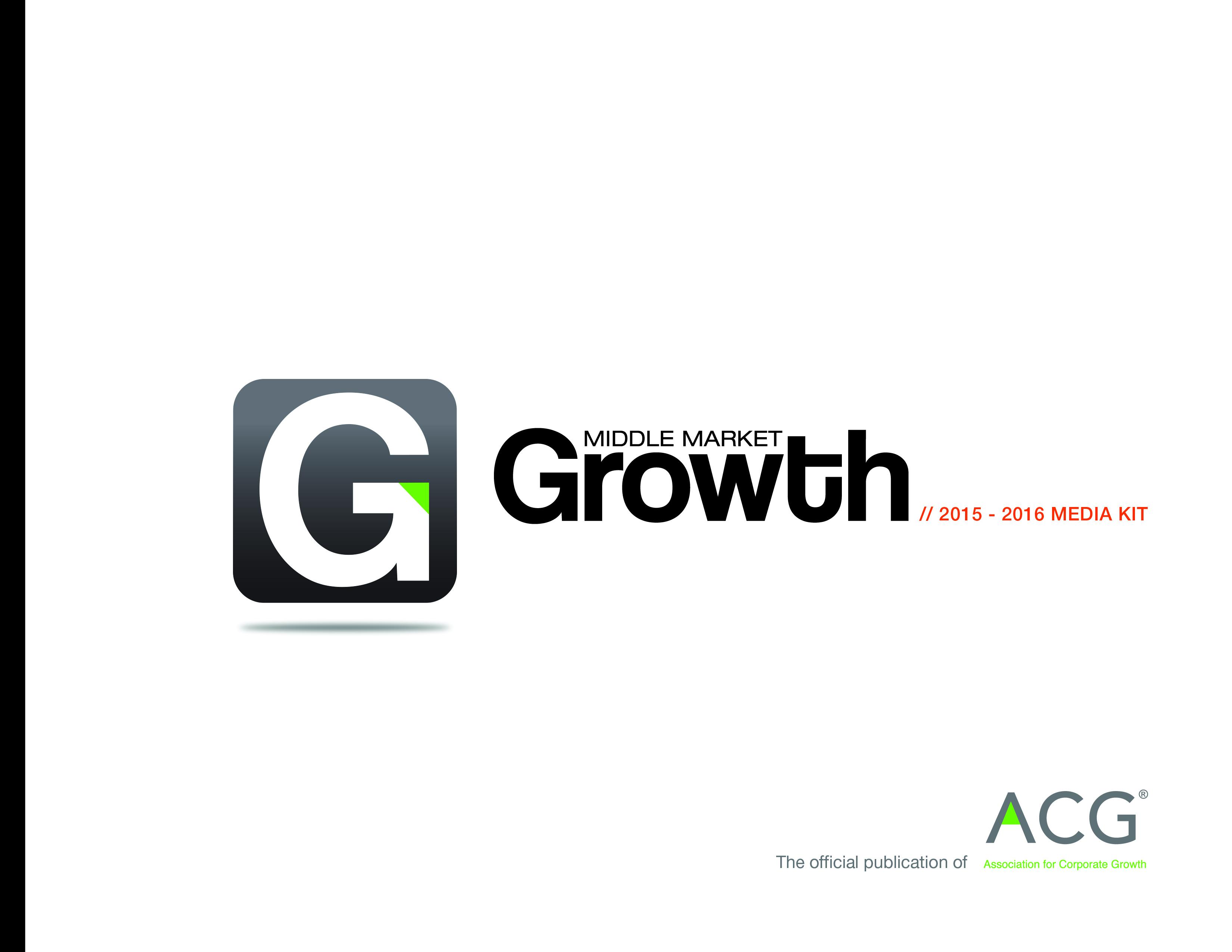 2015 Bronze - Middle Market Growth Media Kit